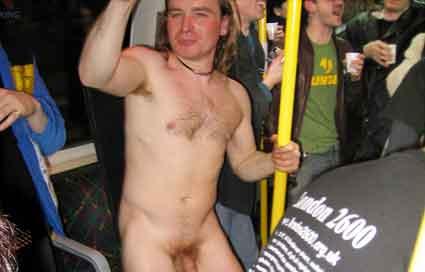 London tube nude